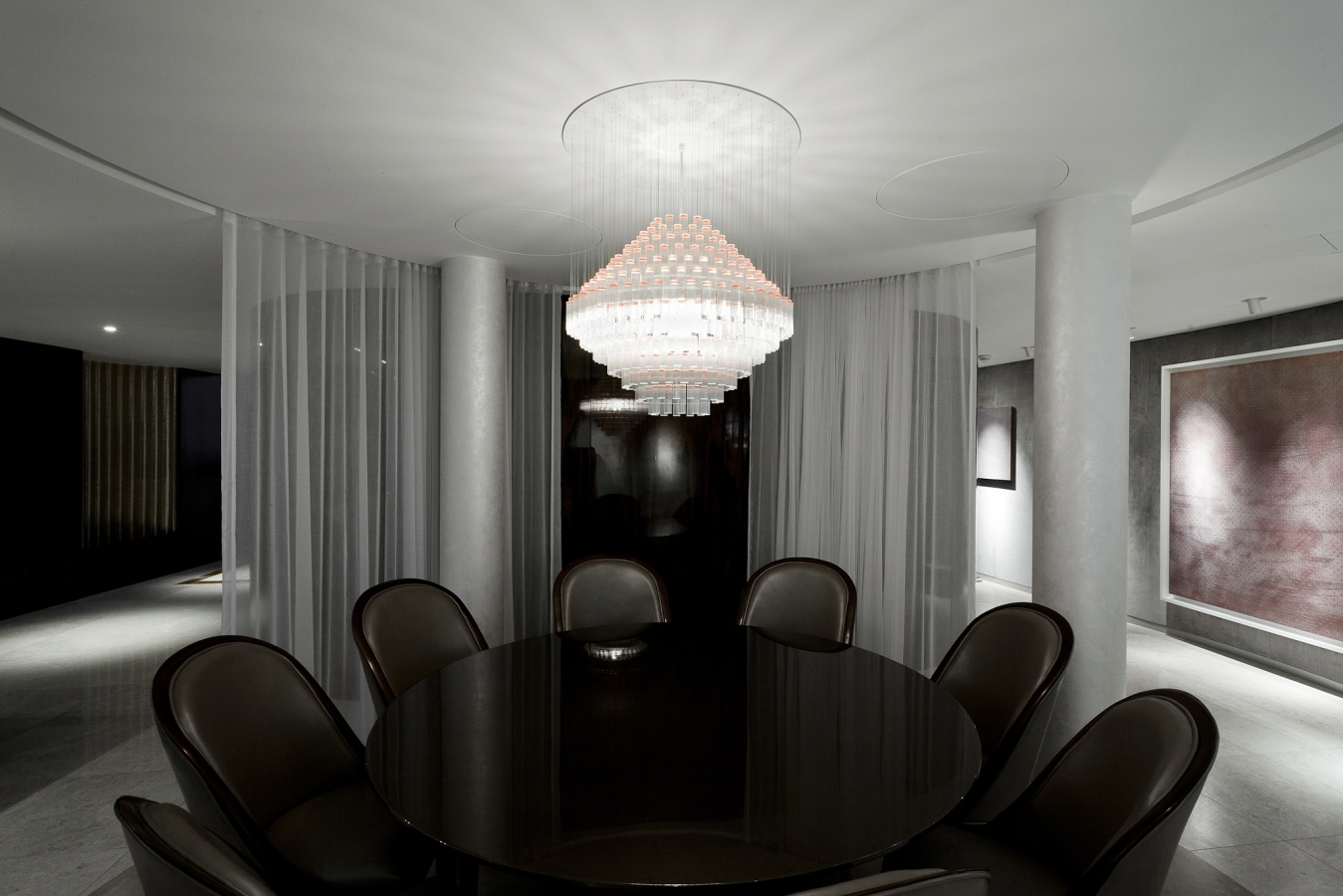 George Singer Modern Chandeliers And Lighting Installations Deco Chandelier Photo 2 Www Georgesinger Co Uk