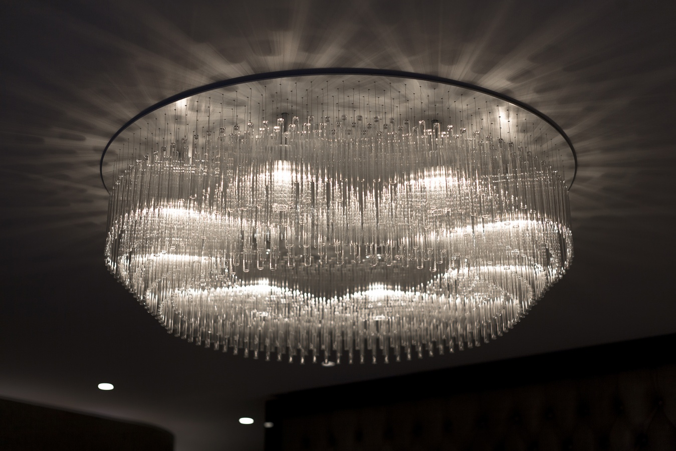 George Singer Modern Chandeliers And Lighting Installations One Thousand Chandelier Photo 1 Www Georgesinger Co Uk