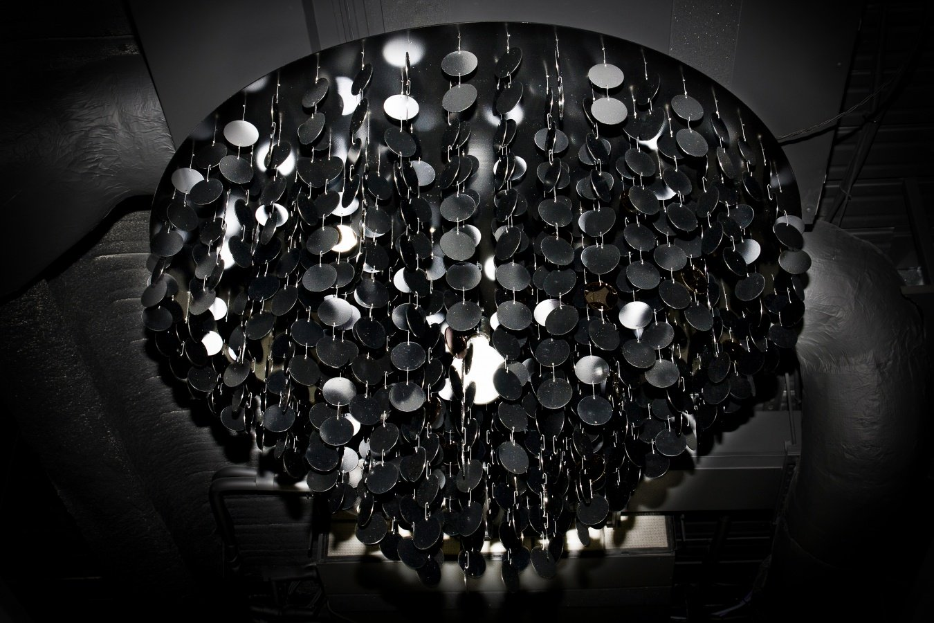George Singer Modern Chandeliers And Lighting Installations Black Oyster Chandelier Photo 2 Www Georgesinger Co Uk