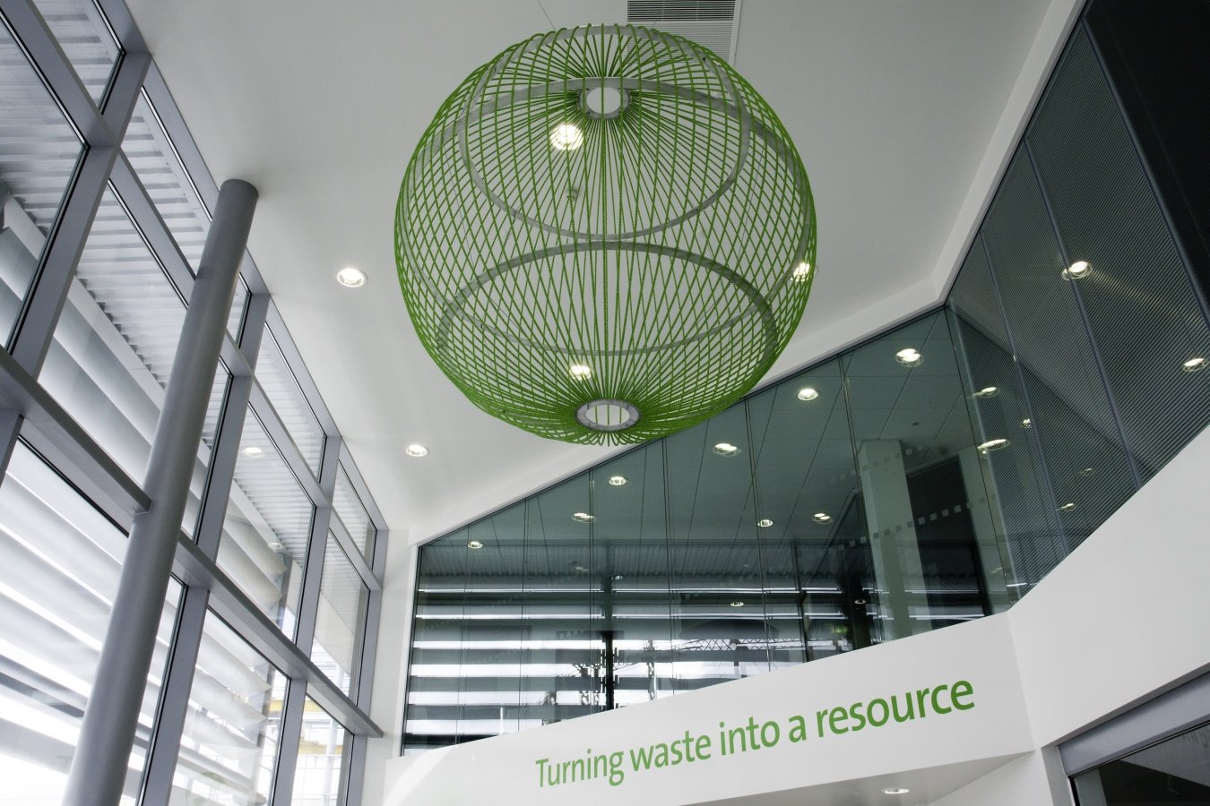 George Singer Modern Chandeliers And Lighting Installations Green Globe Photo 4 Www Georgesinger Co Uk