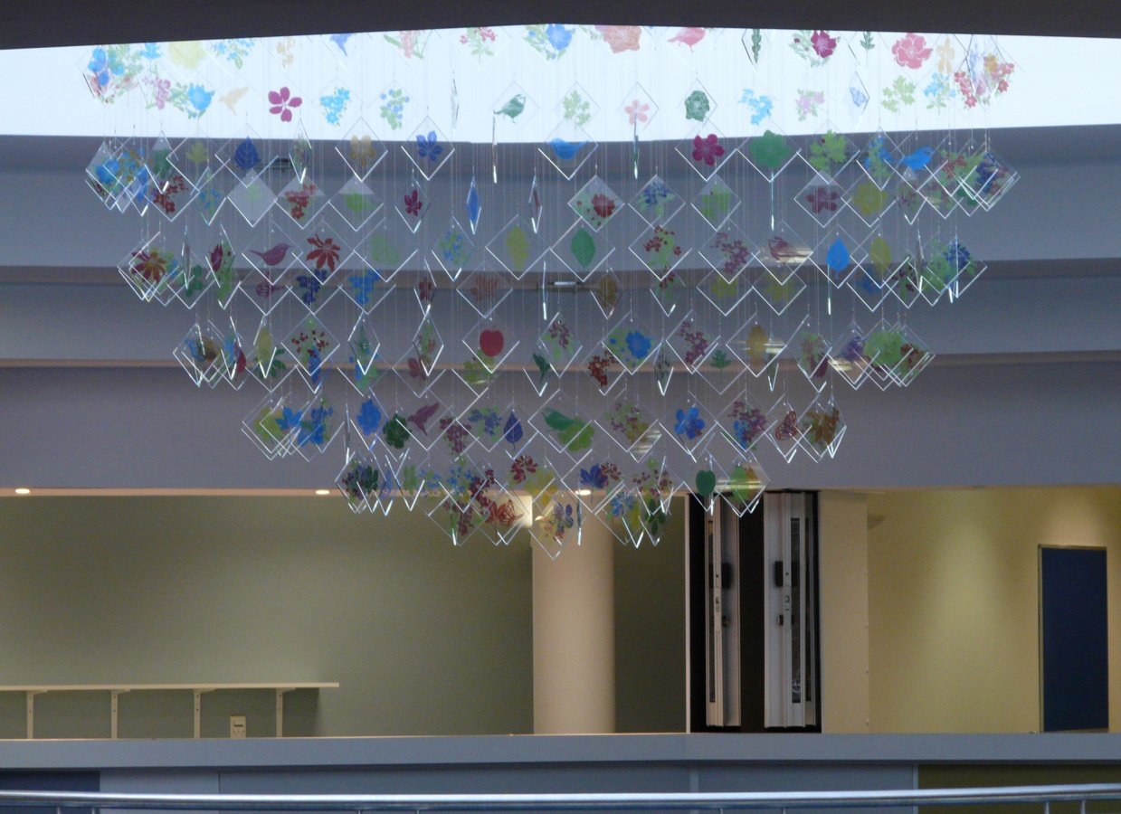 George Singer Modern Chandeliers And Lighting Installations Tree Of Life Installation Photo 2 Www Georgesinger Co Uk