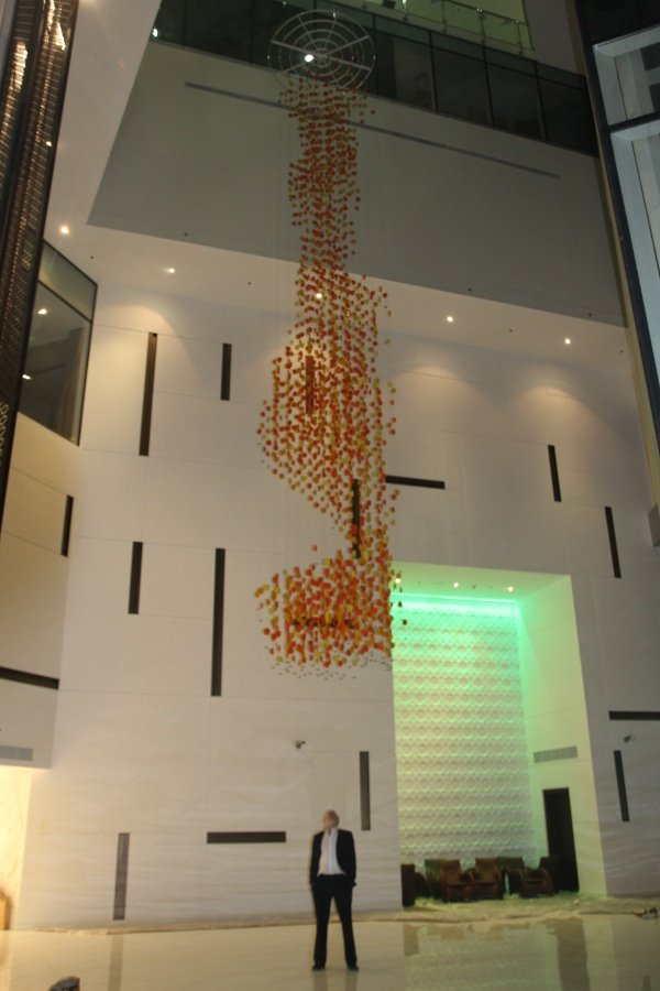 George Singer Modern Chandeliers Lighting Installations Butterfly Chandelier 4 Www Georgesinger Co Uk